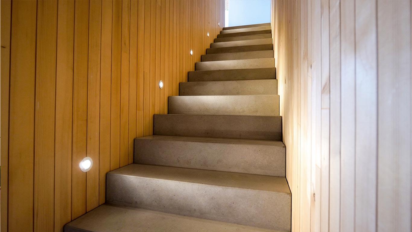 Bauprojekt Treppe