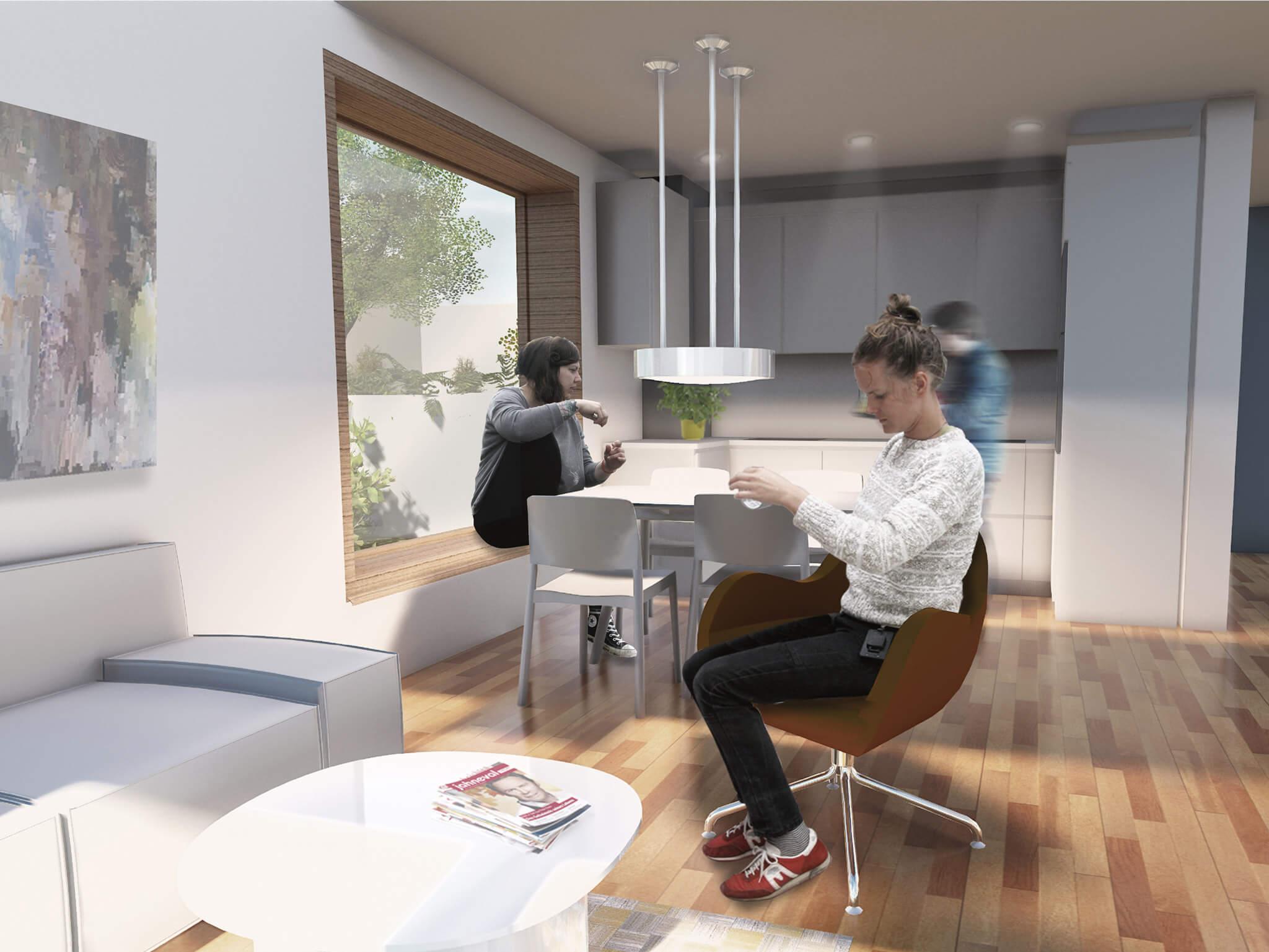 popularc Referenz Doppelhaus: Küche